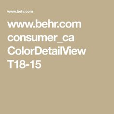 www.behr.com consumer_ca ColorDetailView T18-15
