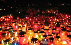 How to Celebrate All Saints Day in Italy. #AllSaintsDay