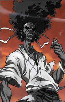 Looking for information on the anime or manga character Afro Samurai? On MyAnimeList you can learn more about their role in the anime and manga industry. Samurai Anime, Afro Samurai, Samurai Art, Samurai Drawing, Comic Character, Black Anime Characters, Manga Characters, Black Comics, Character Design