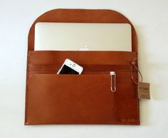 Leather ipad case / Tablet case / Kindle case by toxleather