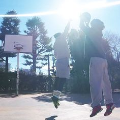 still wanna reach higher #中目黒公園 #street #basketball #ストバス #バスケ #gopro