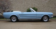 Silver Blue 1965 Ford Mustang Convertible - MustangAttitude.com Mobile