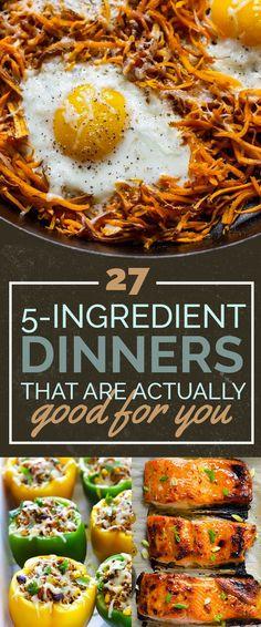 27 5-Ingredient Dinn