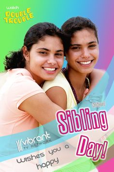 Happy National Sibling Day everyone! #Siblings #Twins #Family