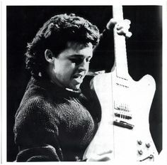 Roland Orzabal back in the 80's with TFF. Love this picture.