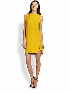 Robert Rodriguez Textured Zip Dress