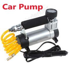 100PSI Super Flow Tire Inflator Auto high quality 12V Portable Air Compressor Car Pump Portable Air Compressor, Flow, Pumps, Car, Automobile, Pumps Heels, Pump Shoes, Autos, Cars