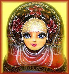 Russian Wooden Nesting Dolls Sister Alyonushka Brother Ivanushka Matryoshka 7   eBay