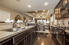 Del Webb Wilmington - Steel Creek model, kitchen interior