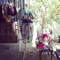 SMYC POP UP STORE  Vintage tropical dress.