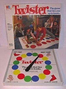 Classic Milton Bradley TWISTER Board Game