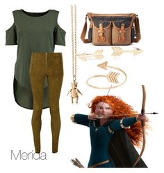 """""""Merida"""" by nikkibarrett ❤ liked on Polyvore featuring Alice + Olivia, The Same Direction, Magdalena Frackowiak and Blue Nile"""