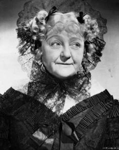 Laura Hope Crews as Aunt Pittypat Hamilton in 'Gone With The Wind' (1939)