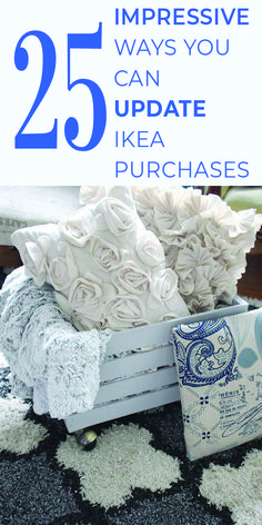 You're going to LOVE this collection of craft projects and ideas for updating your Ikea products! Click through to check out 25 amazing Ikea hacks that you'll want to make right now! Home Decor Items, Diy Home Decor, Upcycle, Reuse Recycle, Recycled Crafts, Diy On A Budget, Unique Furniture, Diy Craft Projects, Ikea Products