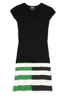 Color Block 1 Piece Dress