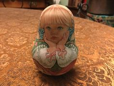 Russian Roly Poly Nesting Doll One of Kind Original Usachova | eBay