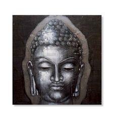 Schilderij Boeddha Head | Snel leverbaar! | HACO