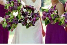 Eggplant Dark and Romantic for Fall Weddings