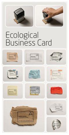 Eco card Interesante pero la calidad no siempre será buena.