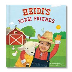My Farm Friends Personalized Book  #personalizedbabygifts  #personalizedbabygift  #babygifts #babygift