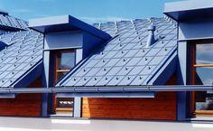 Blachy aluminiowe Prefalz łączą doskonałą jakość felcowania (H 41) i wysokiej jakości powłokę lakierniczą.
