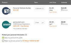 Free Domain with Godaddy Website Builder