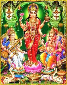 Saraswati Devi, Durga, Indian Goddess, Goddess Lakshmi, Lakshmi Images, Ganesh Wallpaper, Shiva Art, Hindu Art, Image Hd
