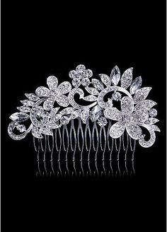 In Stock Beautiful Alloy Wedding Hair Jewelry With Rhinestones 1a529ace8c68