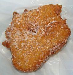 Malassadas - Portuguese Fried Dough          1 Box of Pillsbury Hot Roll Mix   2 eggs   1 cup of milk   1 lemon peel grated   salt   1/2 c...