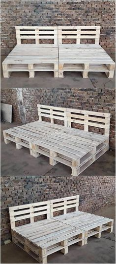 In order to bring about something really refreshing in your house, this wood pallet day bed is somehow the best alternative. It is completely designed with the wood manufacturing use over it whose functions can be best availed to locate your outdoor areas
