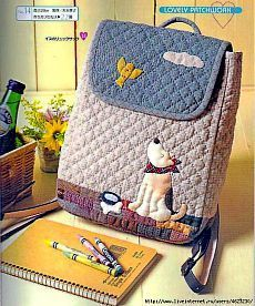 lovely patchwork - Yolanda J - Álbuns da web do Picasa Japanese Patchwork, Patchwork Bags, Quilted Bag, Japanese Bag, Fabric Bags, Fabric Scraps, Bag Quilt, Backpack Pattern, Diy Couture