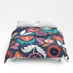 Spring song Comforters by MarDesign | Society6