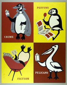 Vintage 1950s artwork from the Penguin archives. More beauty at http://www.penguinenglishlibrary.com/