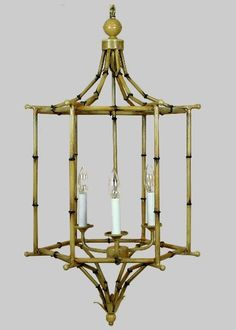 COCOCOZY: CHEAP TO CHIC: BAMBOO CHANDELIERS!