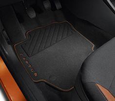 Tapis de sol textile Premium orange