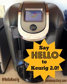 Keurig 2.0 - The Ultimate Caffeinator. The new Keurig brewers are awesome. Brew a single cup or a 4-cup carafe from the SAME machine! #HelloKeurig