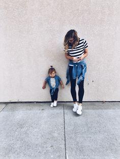striped twins