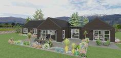 Northlake 4 bedroom house design Landmark Homes builders NZ