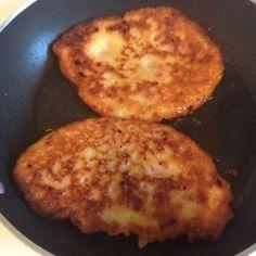 Crispy potato pancakes the way my Polish grandmother made them