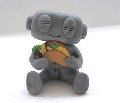 I Luv U Taco Robot by sleepyrobot13 on Etsy https://www.etsy.com/listing/61905958/i-luv-u-taco-robot