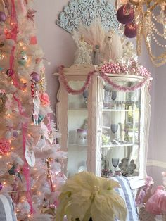 Christmas  I would love to have the little curio cabinet <3