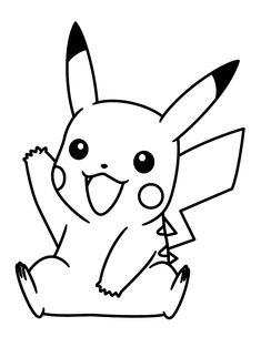 pokemon pikachu coloring pages to print