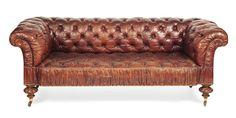 Drennan Antiques   Sir Robert Lorimer Furniture Specialist   Leather sofa