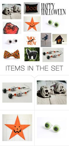 HAPPY HALLOWEEN! by lrlsbylaurie on Polyvore featuring art