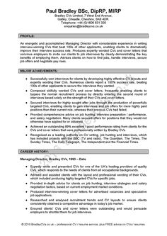 Guidelines For A Resume Sample Resume Skills Profile  Httpwww.resumecareersample .