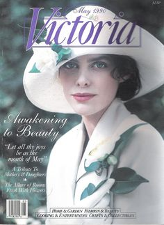 Vintage Victoria Magazine Awakening to Beauty