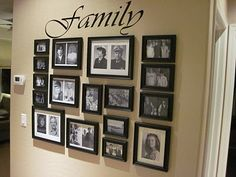 Family Picture Arrangements