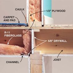 How to Soundproof a Room Add insulation, acoustical caulk and an extra layer of drywall Off Grid, Soundproofing Walls, Soundproofing Material, Home Studio, Recording Studio Design, Audio Room, Sound Proofing, Home Repairs, Basement Remodeling
