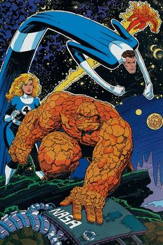 The Fantastic Four by Art Adams