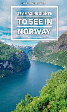 27 Amazing Sights You Have To See In Norway! - Hand Luggage Only - Travel, Food…